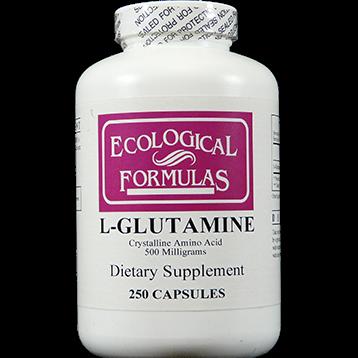 Ecological Formulas L Glutamine 500 mg 250 caps GLUTA2