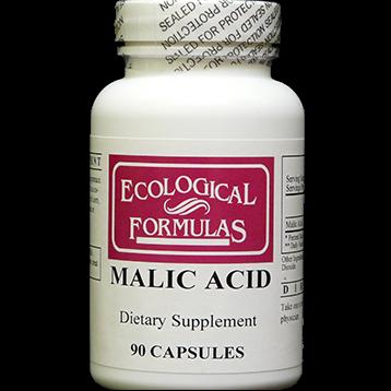 Ecological Formulas Malic Acid 600 mg 90 caps MALI3