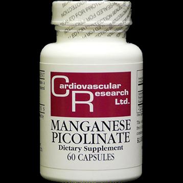 Ecological Formulas Manganese Picolinate 20 mg 60 capsules MANG3