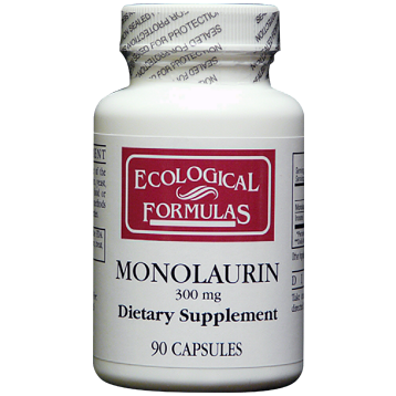 Ecological Formulas Monolaurin Lauric Acid 300 mg 90 caps MONO