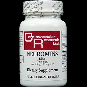 Ecological Formulas Neuromins DHA 100 mg 50 vgels NEUR3