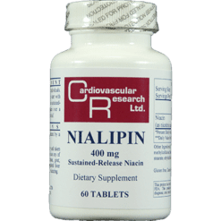 Ecological Formulas Nialipin 400 mg 60 tablets NIAL