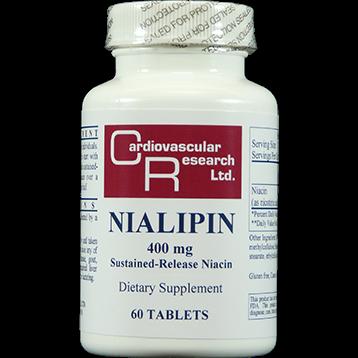Ecological Formulas Nialipin 400 mg 60 tablets NIAL