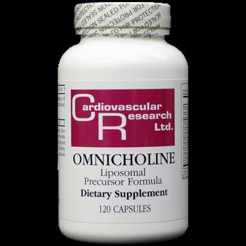 Ecological Formulas Omnicholine 120 caps OMNI