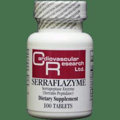 Ecological Formulas Serraflazyme 100 tabs SERRA