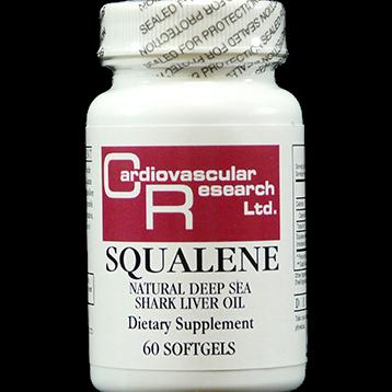 Ecological Formulas Squalene 500 mg 60 softgels SQUA5