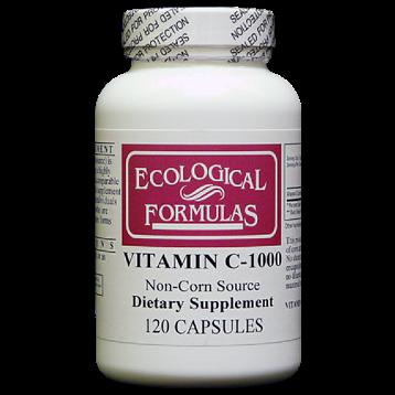 Ecological Formulas Vitamin C 1000 from Tapioca 120 caps C1000