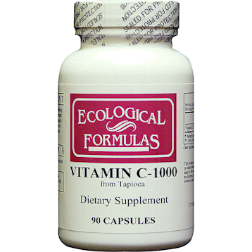 Ecological Formulas Vitamin C 1000 from Tapioca 90 caps TAPIO