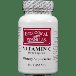 Ecological Formulas Vitamin C from Tapioca 150 grams PURC4