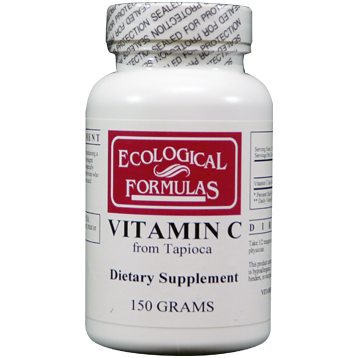 Ecological Formulas Vitamin C from Tapioca 150 grams PURC4
