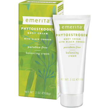 Emerita Phytoestrogen Body Cream 2 fl oz PHY71