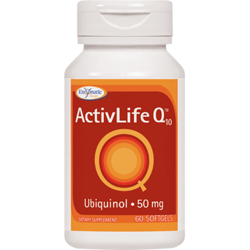 Enzymatic Therapy ActivLife Q10™ Ubiquinol 50 mg 60 gels ACTI7
