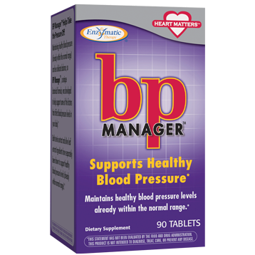 Enzymatic Therapy BP Manager™ 90 tabs BPM90
