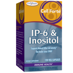 Enzymatic Therapy Cell Forté® IP 6 amp Inositol 120 vegetarian capsules CEL33