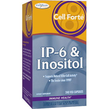 Enzymatic Therapy Cell Forté® IP 6 amp Inositol 240 vegcaps CEL34