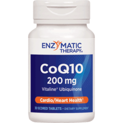 Enzymatic Therapy CoQ10 200 mg 30 tabs I00217