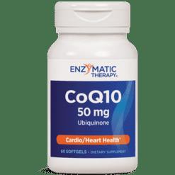 Enzymatic Therapy CoQ10 50 mg 60 gels CQ17