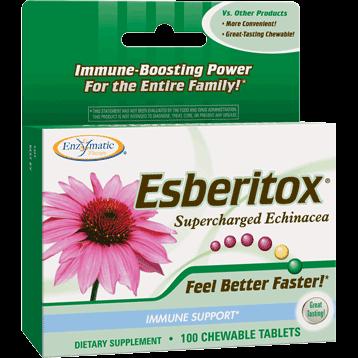 Enzymatic Therapy Esberitox® Superchrgd Echinacea 100 chew ESBE3