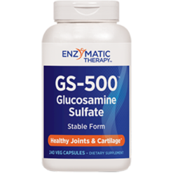 Enzymatic Therapy GS 500™ Glucosamine Sulfate 240 capsules GS6