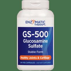 Enzymatic Therapy GS 500™ Glucosamine Sulfate 240 capsules GS6