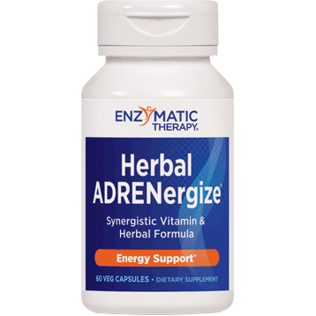 Enzymatic Therapy Herbal ADRENergize 60 caps HER53