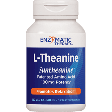 Enzymatic Therapy L Theanine 180 caps LTHE4