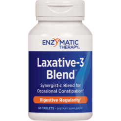Enzymatic Therapy Laxative 3 Blend™ 60 tabs LAX60