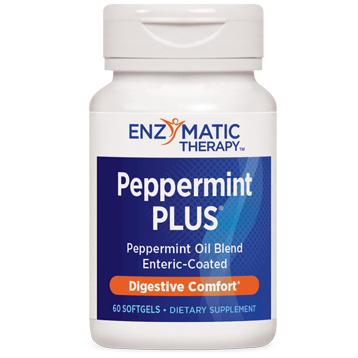 Enzymatic Therapy Peppermint Soothe 60 softgels PEP17