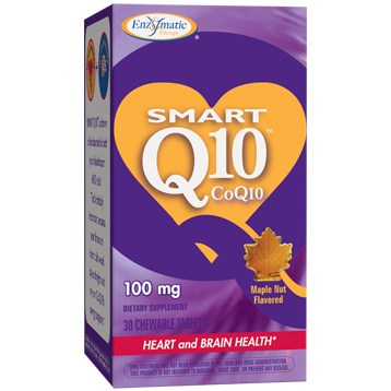 Enzymatic Therapy SMART Q10™ CoQ10 Maple 100 mg 30 chew SMAR2