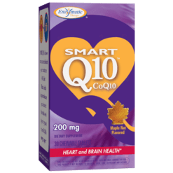 Enzymatic Therapy SMART Q10™ CoQ10 Maple 200 mg 30 chew SMAR3