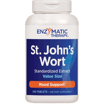 Enzymatic Therapy St. Johns Wort Extract 240 tabs STJ55