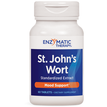Enzymatic Therapy St. Johns Wort Extract 60 tabs STJ56