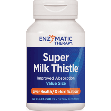Enzymatic Therapy Super Milk Thistle® 120 caps SUP86