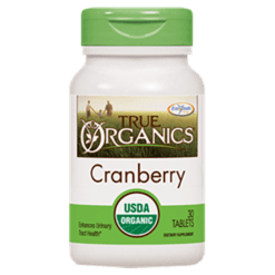 Enzymatic Therapy True Organics™ Cranberry 30 tablets ORGA6