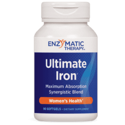 Enzymatic Therapy Ultimate Iron® 90 gels ULTI3