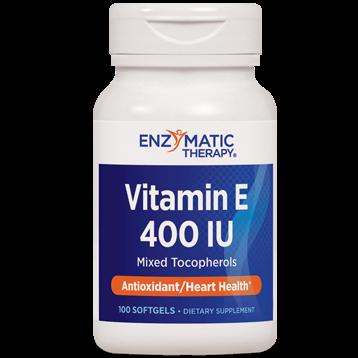 Enzymatic Therapy Vitamin E 400 IU w mixed toco 100 ge VIE1