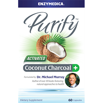 Enzymedica Purify Coconut Charcoal 60 caps E00653