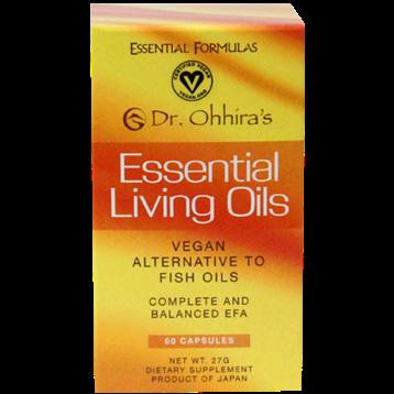 Essential Formulas Dr Ohhiras Essential Living Oils 60gels ELO