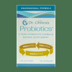 Essential Formulas Dr Ohhiras Probiotics Plus 120 vegetarian capsules PRPR1