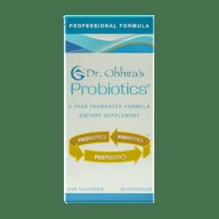 Essential Formulas Dr Ohhiras Probiotics Plus 30 vegetarian capsules PRPR3