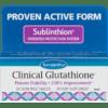 Euromedica Clinical Glutathione 60 tablets E73706