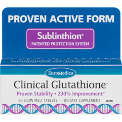 Euromedica Clinical Glutathione 60 tablets E73706