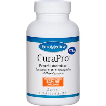 Euromedica CuraPro 375 mg 60 gels E90206