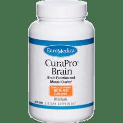 Euromedica CuraPro Brain 60 Softgels E80206