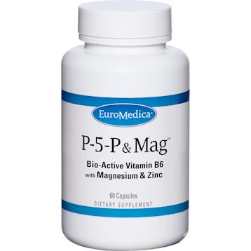 Euromedica P 5 P amp Magnesium ™ 60 caps E76106