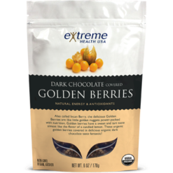 Extended Health Dark Choc Golden Berries Organic 6 oz E31961