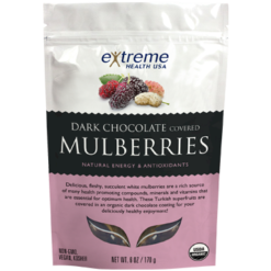 Extended Health Organic Dark Chocolate Mulberries 6oz E32927