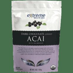 Extended Health Organic Dk Choc Acai w Mulberries 6oz E32958
