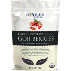 Extended Health Organic Goji Berries Dark Chocolate 6 oz E32507