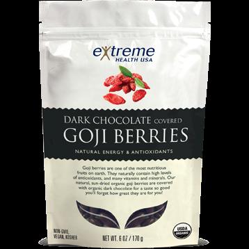 Extended Health Organic Goji Berries Dark Chocolate 6 oz E32507